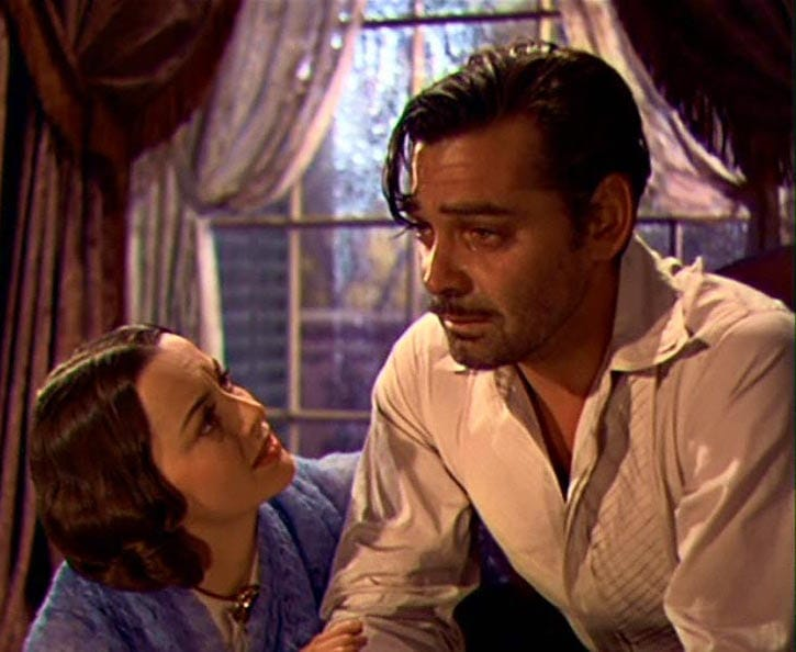 Image result for gable crying in gwtw