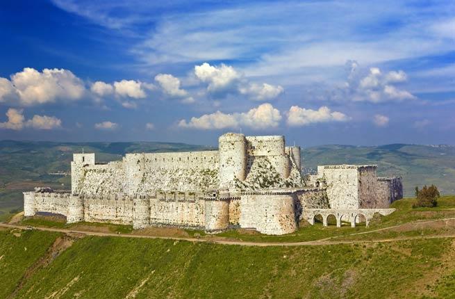 syria- castle