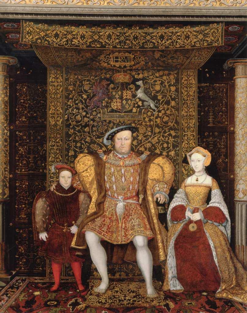Tudors- henry edward anne