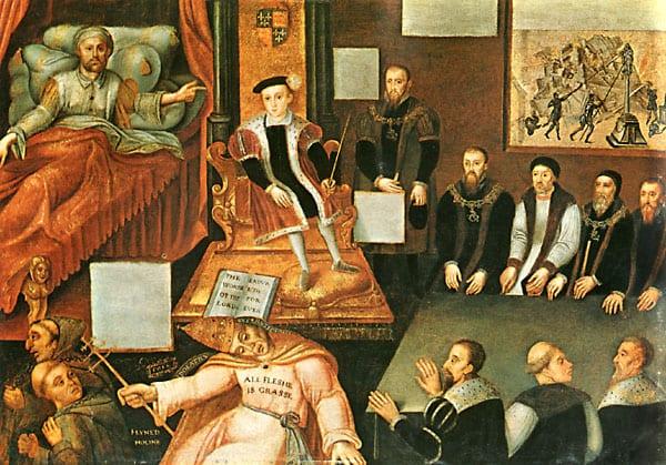 Tudors- Henry death