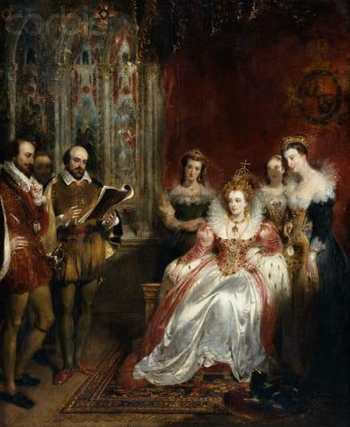 Tudor- Elizabeth shakespeare