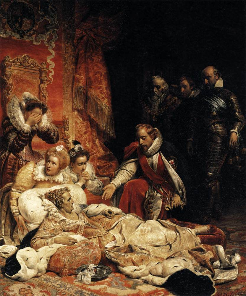 Tudors- Queen Elizabeth Death