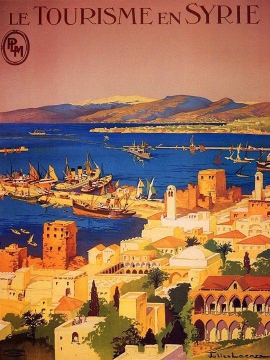 syria- postcard