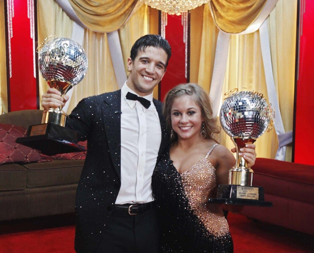 DWTS- shawn johnson