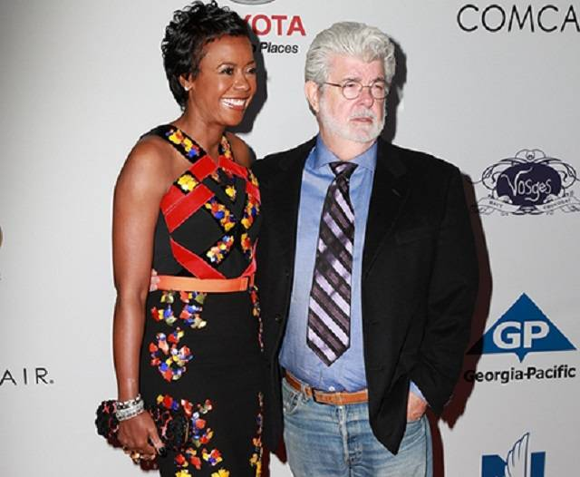 Biracial couples-george lucas