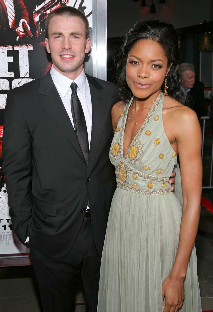 Biracial couples-chris evans