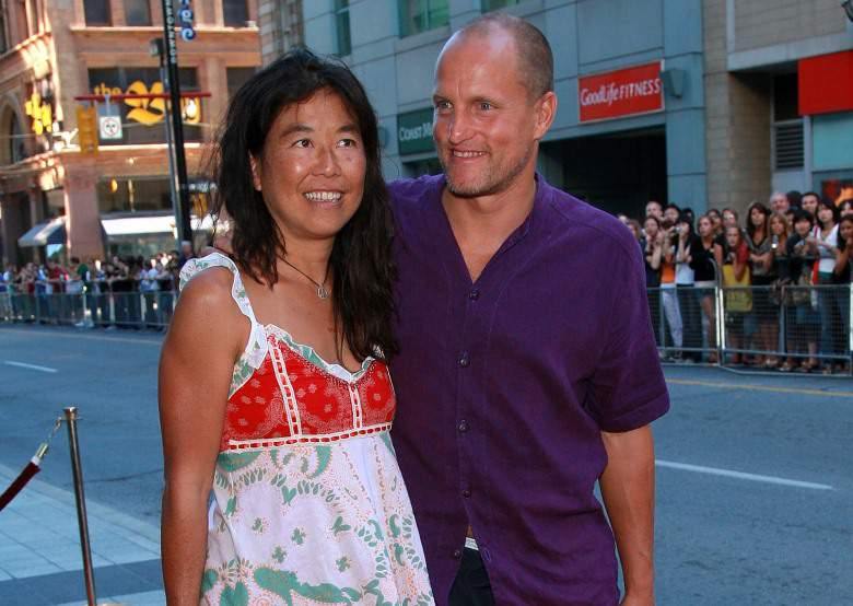 biracial couples-woody harrelson