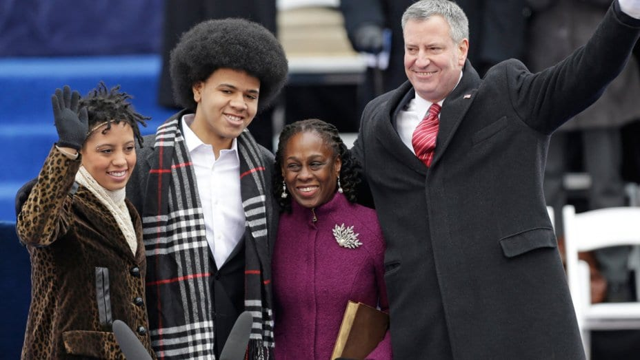 biracial couples-bill de blasio
