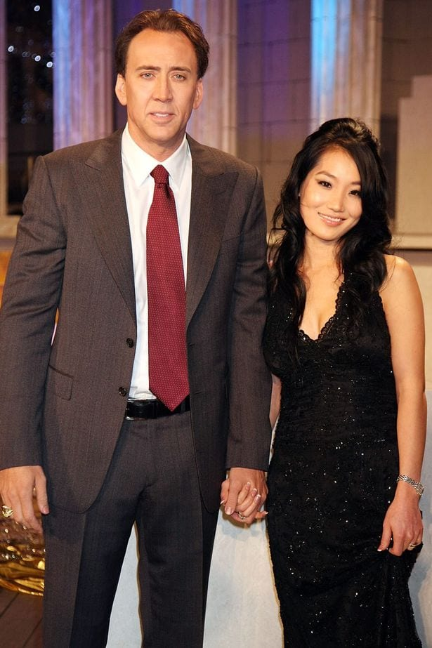 how did nicholas cage and alice kim meet