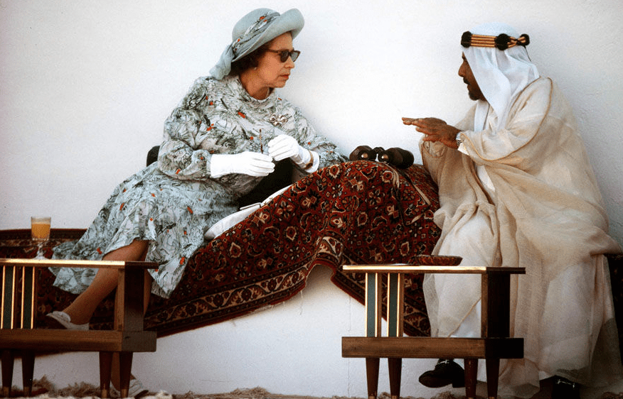 The Emir of Bahrain 1979