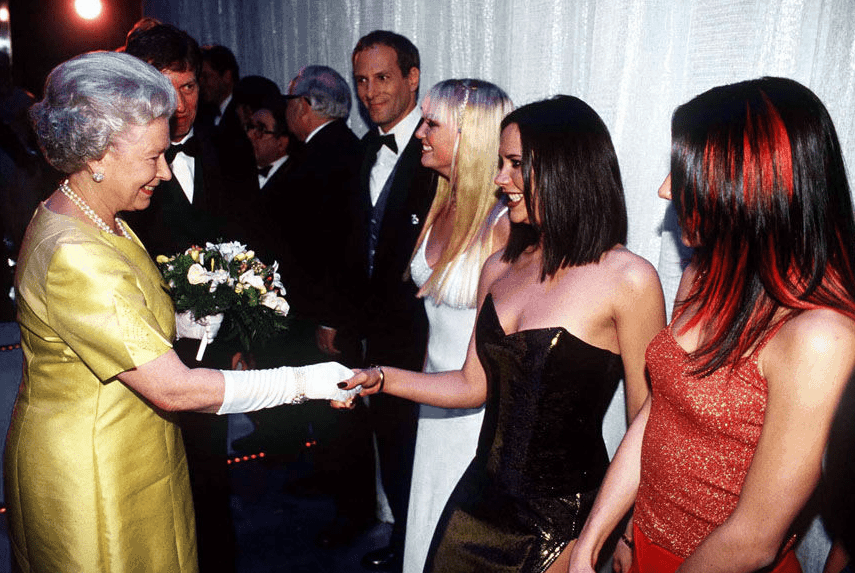 Spice Girls at Victoria Palace Theatre 1997