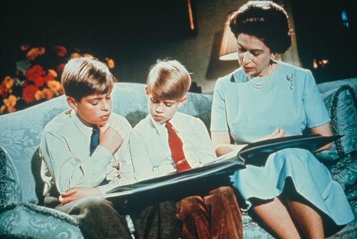 Unseen Rare Photos Of The Royal Family