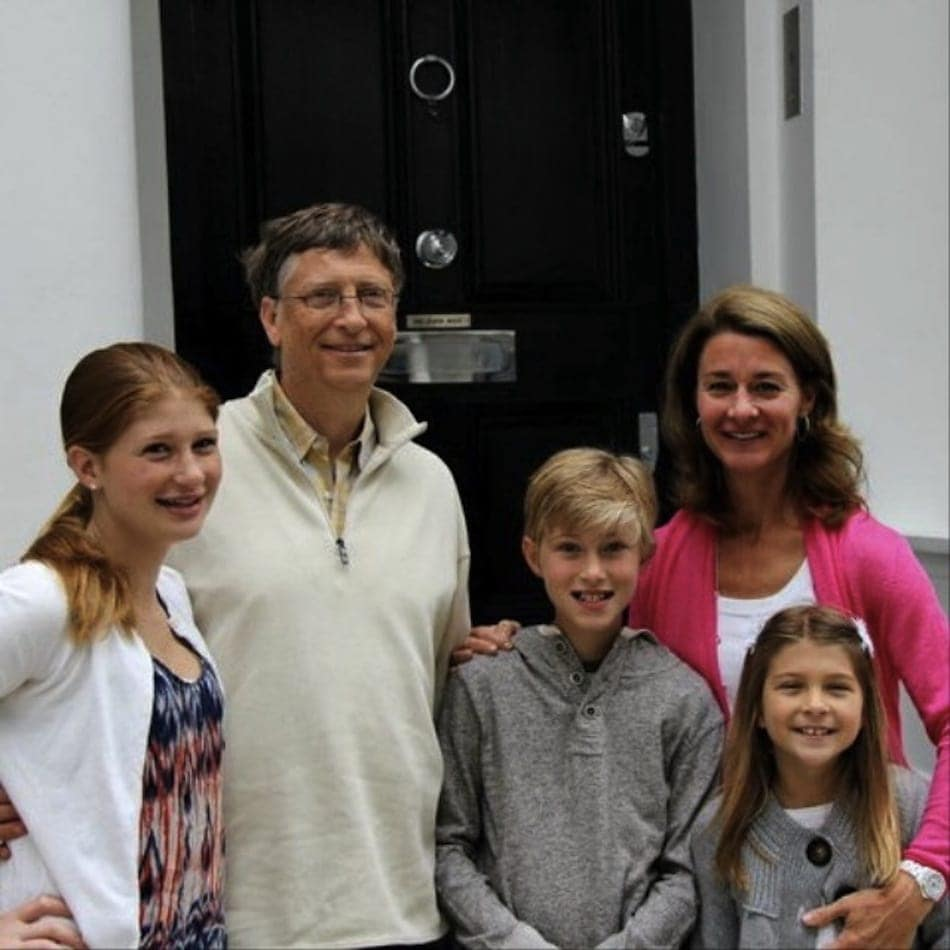 celeb inheritance- bill gates