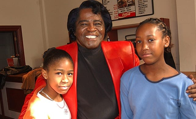celeb inheritances- james brown
