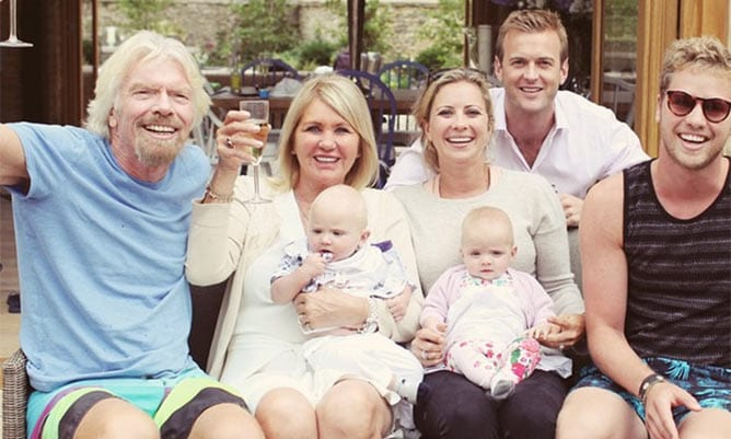 celeb inheritances- richard branson