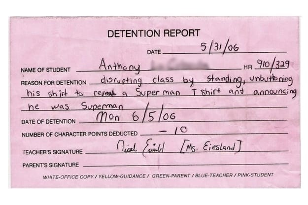 detention- superman