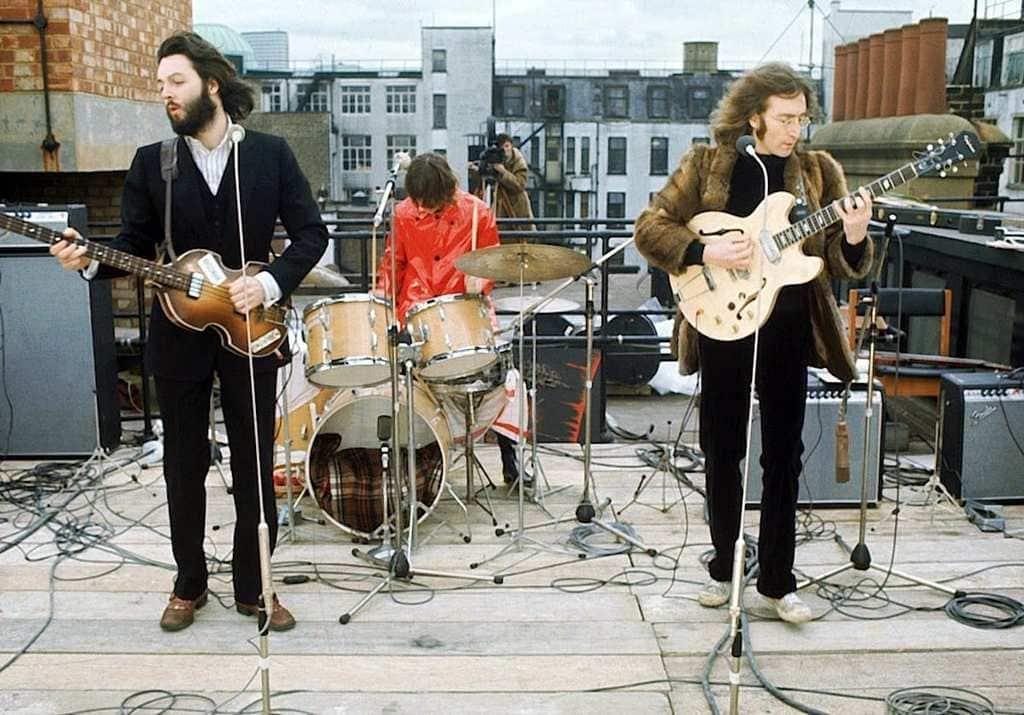 The Beatles' Rooftop Concert in 1969 (2)