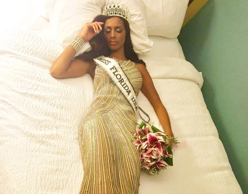 miss usa- bed