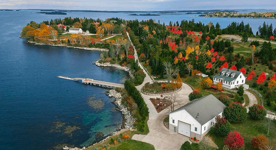 hope island- views