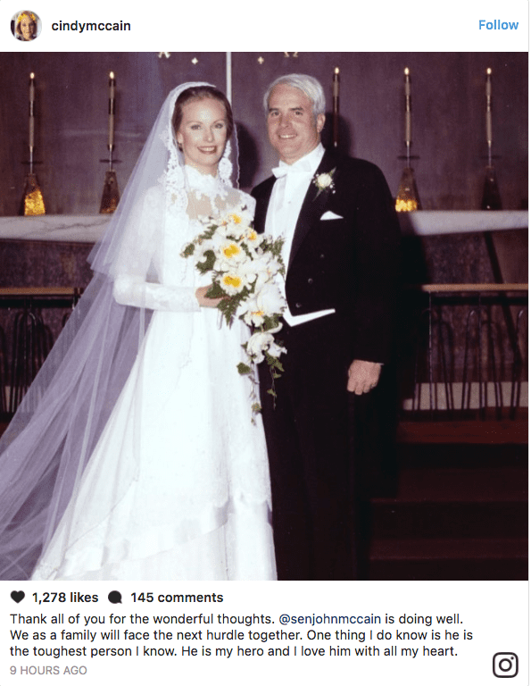 Cindy McCain Instagram