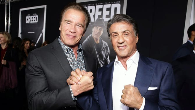 With Arnie