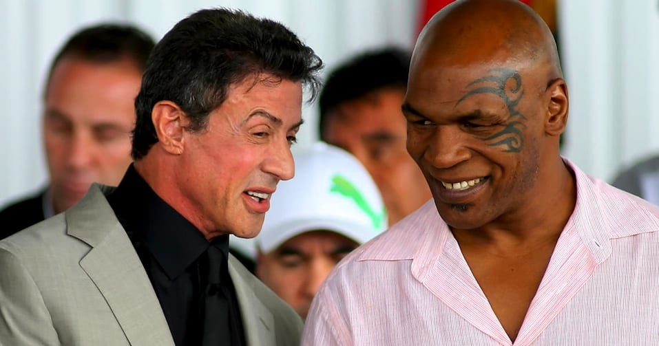 with Mike Tyson