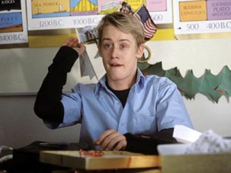 macaulay paper airplane school saved