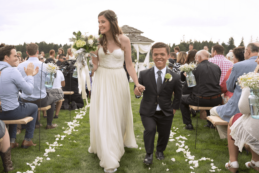 Tori roloff opens up on the news she never expected roloff wedding junglespirit Choice Image