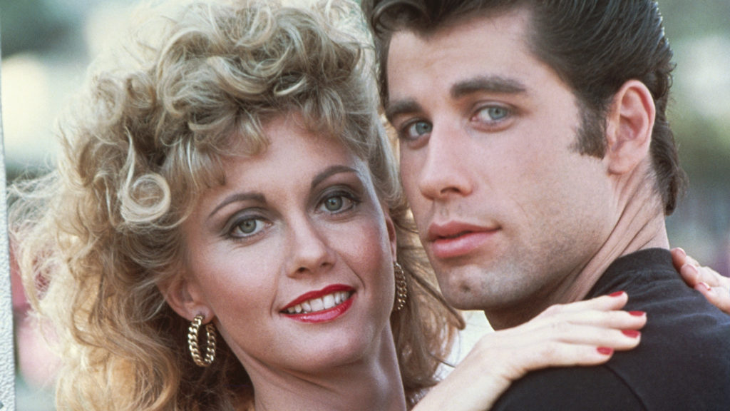 Image: John Travolta and Olivia Newton-John
