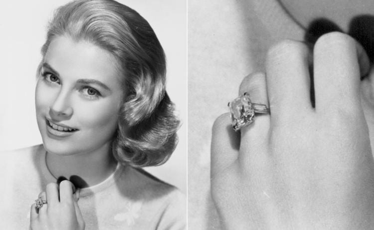 rings- grace kelly