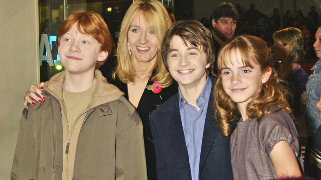 Jk Rowling And Jorge Arantes