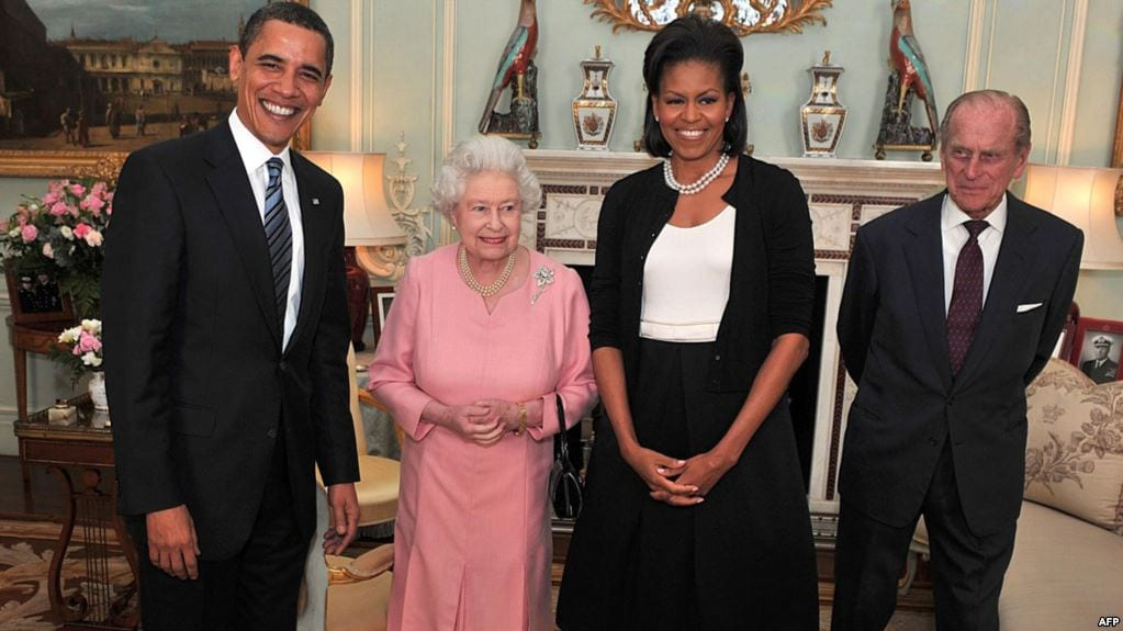 royal family-obamas