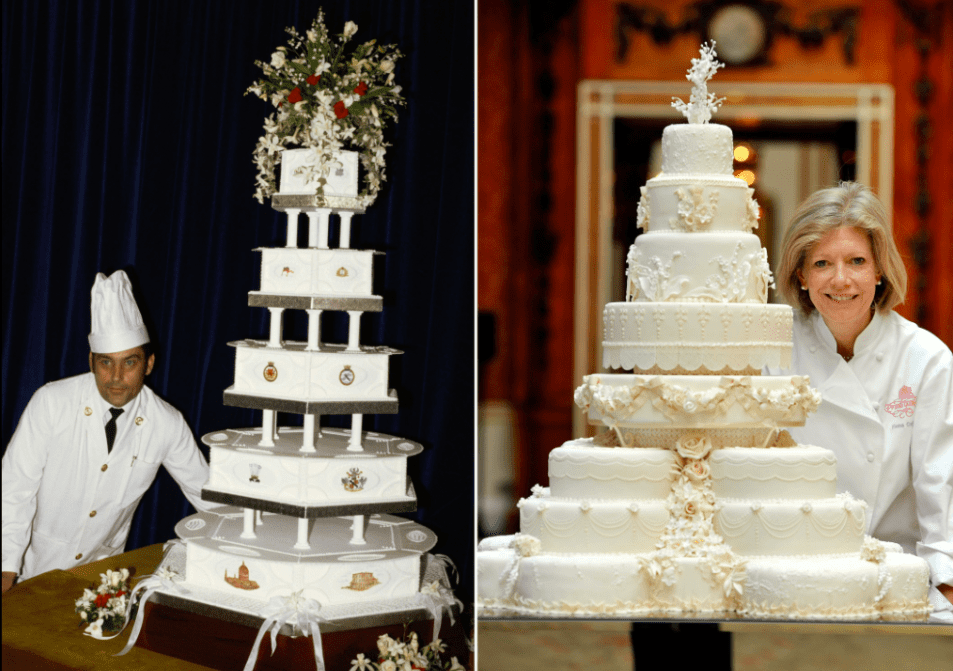 royal weddings- cake