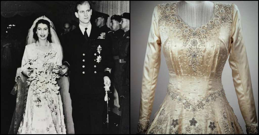 royal wedding-queen dress