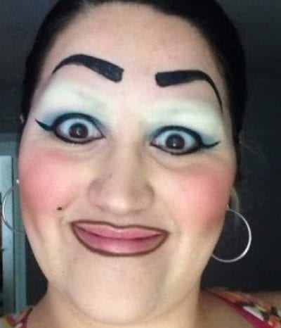 these eyebrows are so bad theyre actually works of art
