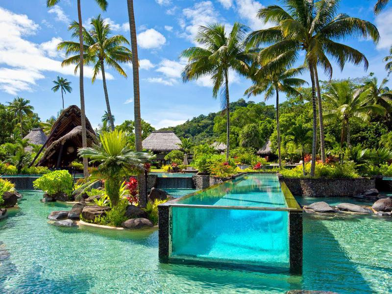 The Private Resort Island Of Laucala, Fiji, Is Home To This Incredible Pool.  A Nightu0027s Stay Costs From $7,000 To $36,000.