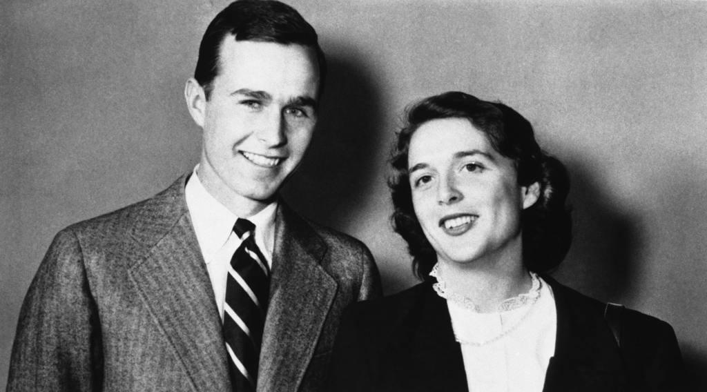George Bush 1945