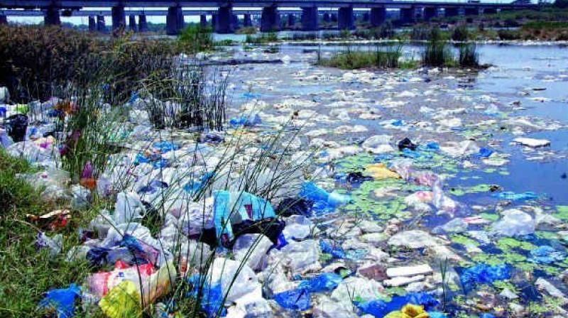 plastic- water pollution