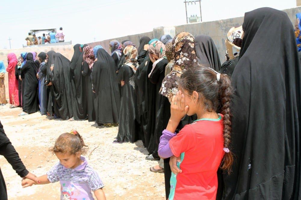 ISIS- food line