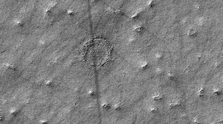 Mars NASA Circle