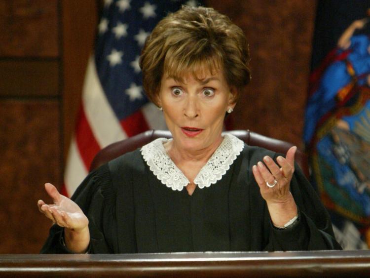 bad mood - judge judy