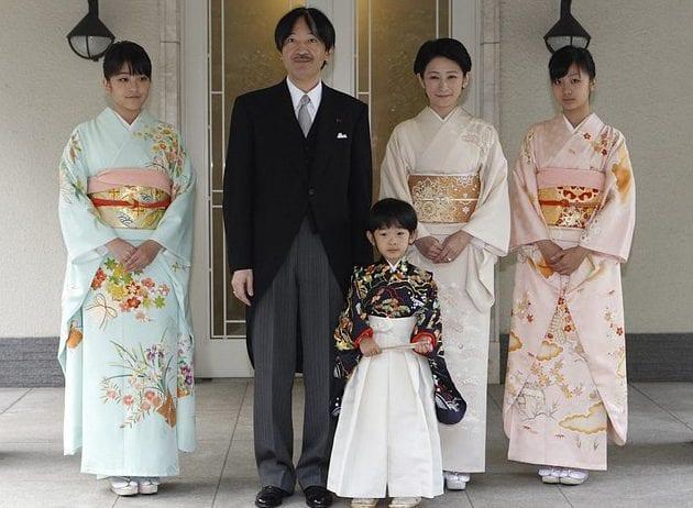 Mako, Akishino, Hisahito, Kiko, Kako