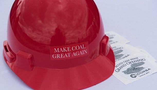 coal mine - make america coal again