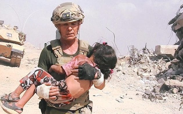 soldier - rescue