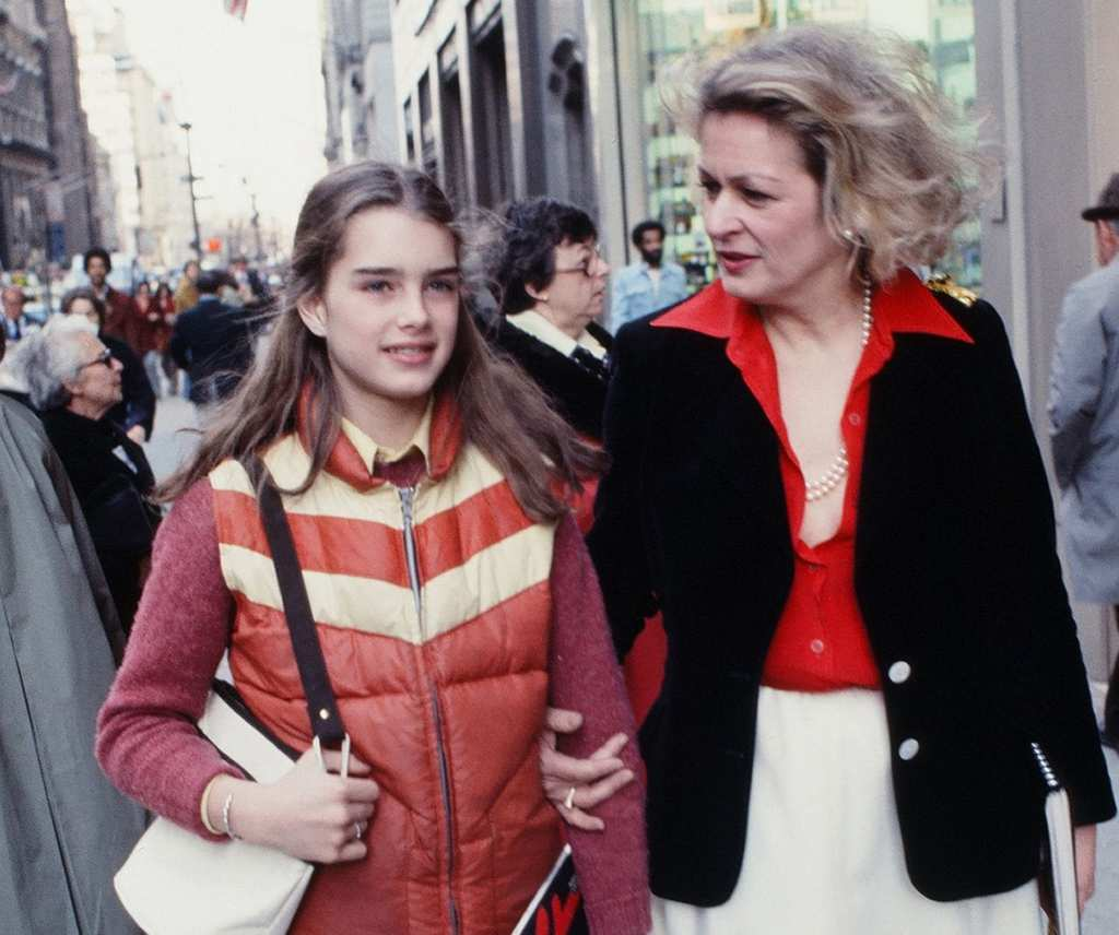 brooke shields - mom