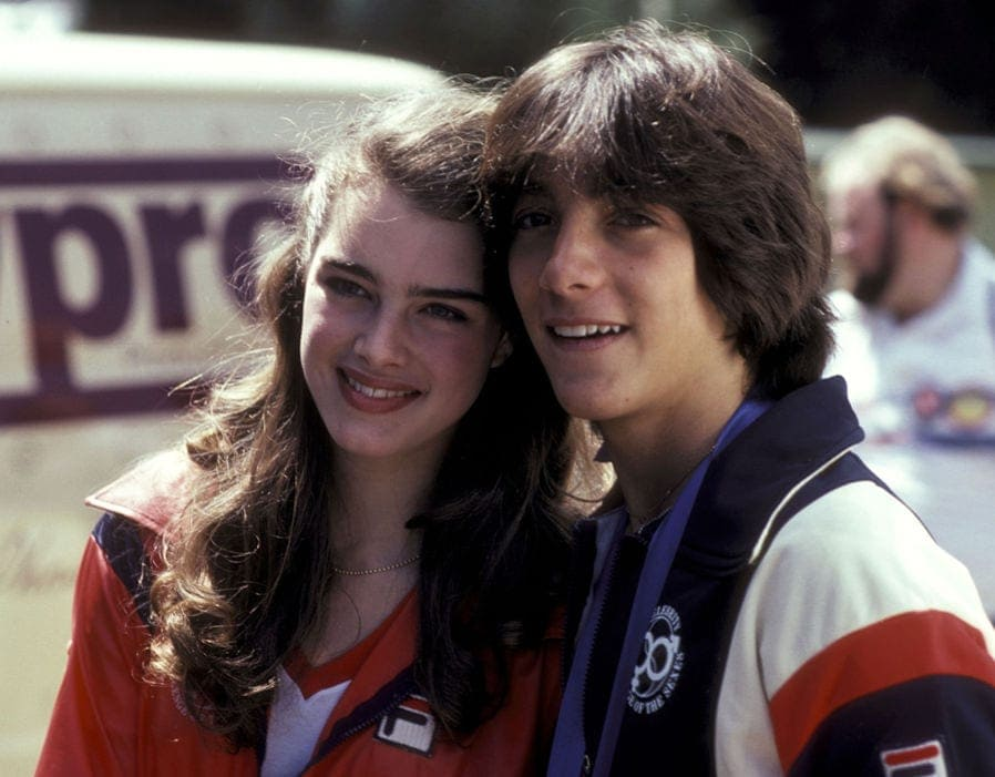 brooke shields - scoot baio
