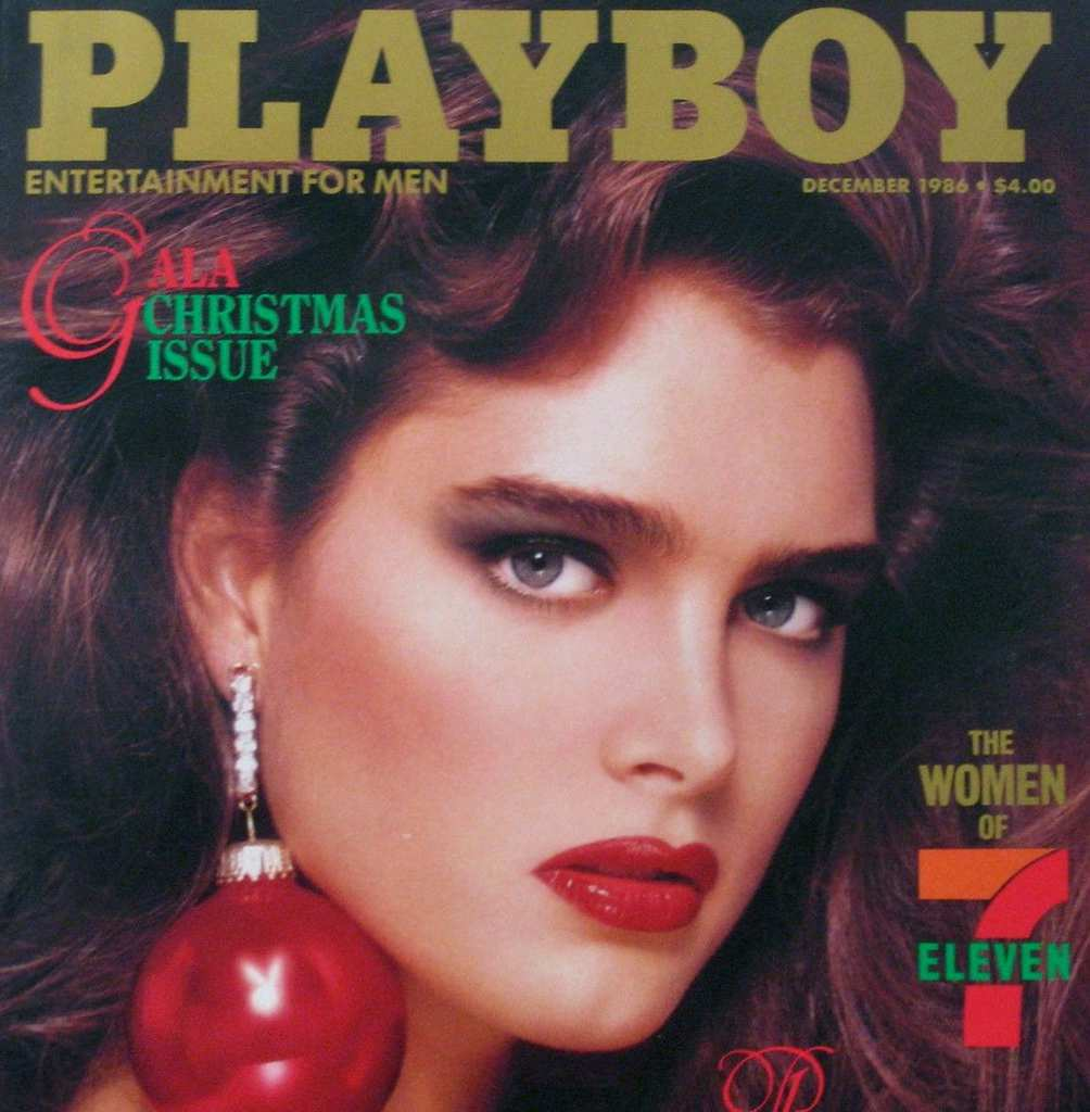 brooke shields - playboy