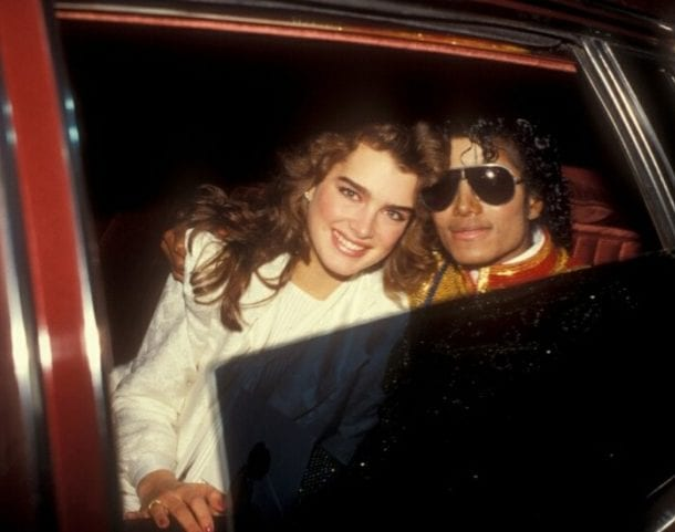 brooke shields - michael jackson