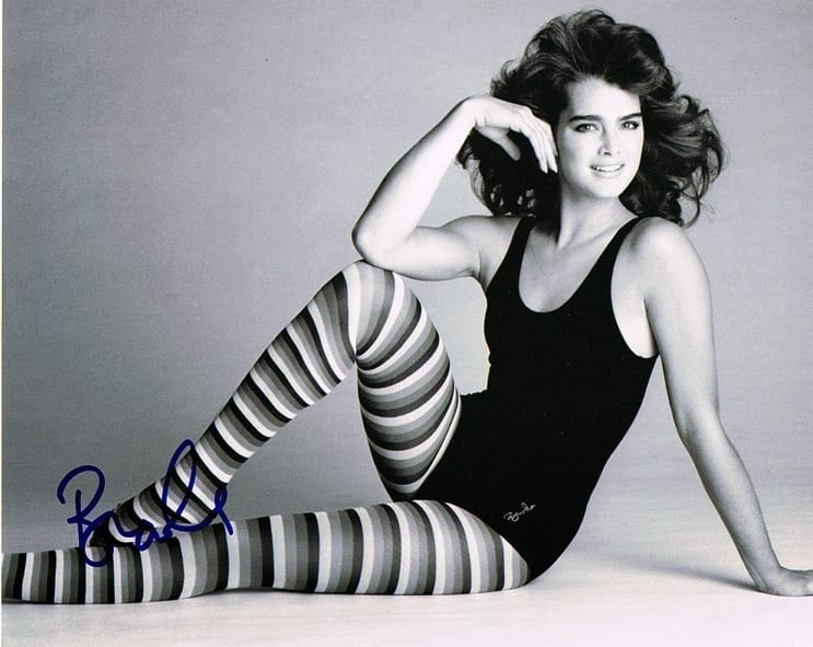 brooke shields - fitness