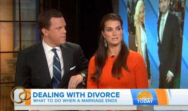 brooke shields - divorce